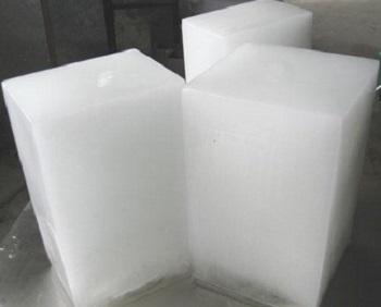 1吨冰砖机产冰图片