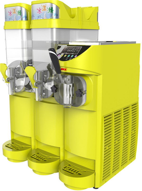 软冰淇淋机+雪融机+饮料机一体机