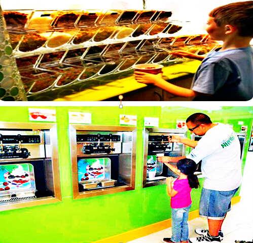 优格冰淇淋机-酸奶冰淇淋机-Yogurt ice cream machine
