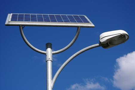 太阳能三角壁灯(遥控)
