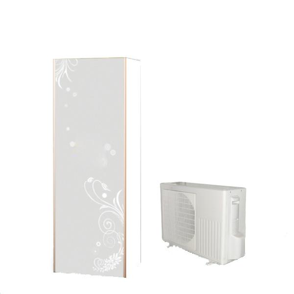 热泵家用空气能热水器 双胆银