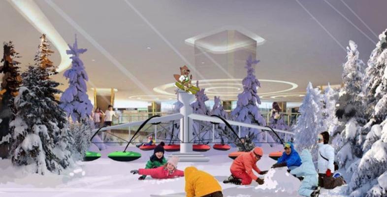 冰雪王国主题乐园游玩