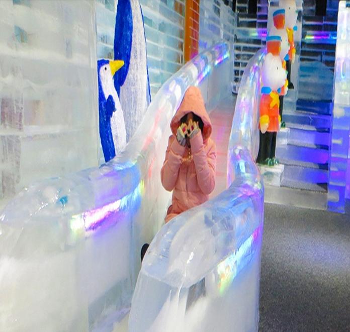 冰雪乐园冰雕